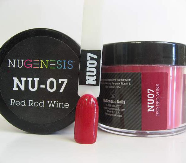 NuGenesis Dipping Powder - Red Red Wine NU-07