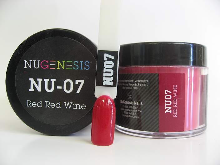 NuGenesis Dipping Powder - Red Red Wine NU-07