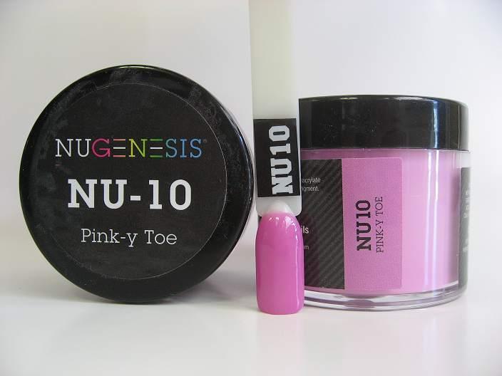 NuGenesis Dipping Powder - Pink-y Toe NU-10