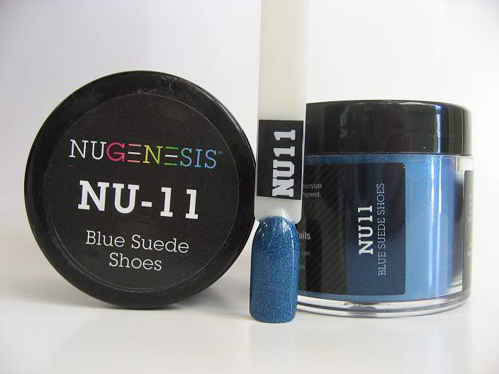 NuGenesis Dipping Powder - Blue Suede Shoes NU-11