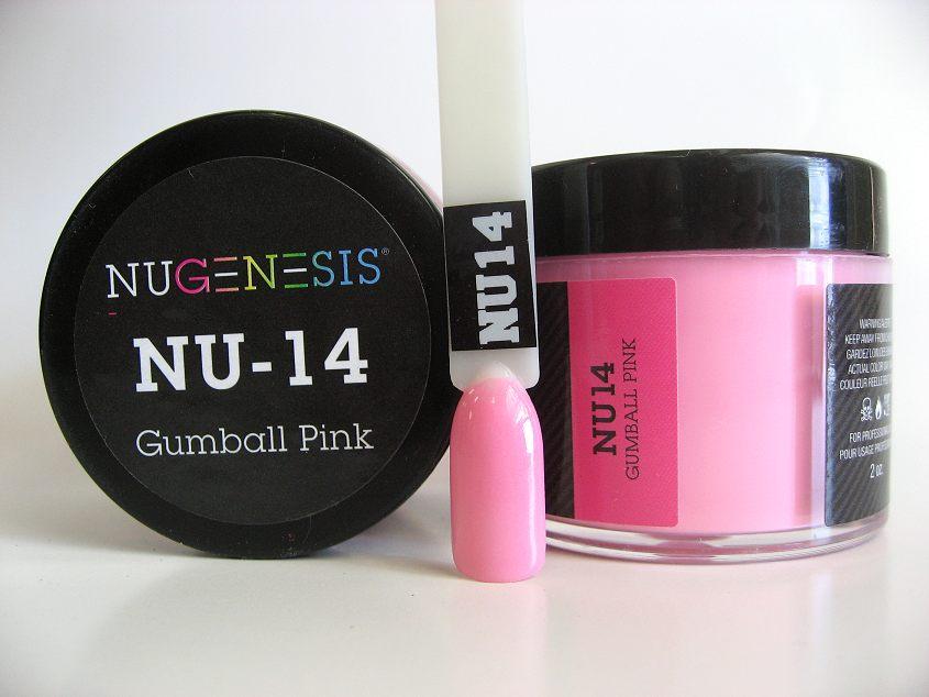 Nugenesis Easy Dip Powder - NU14 Gumball PInk