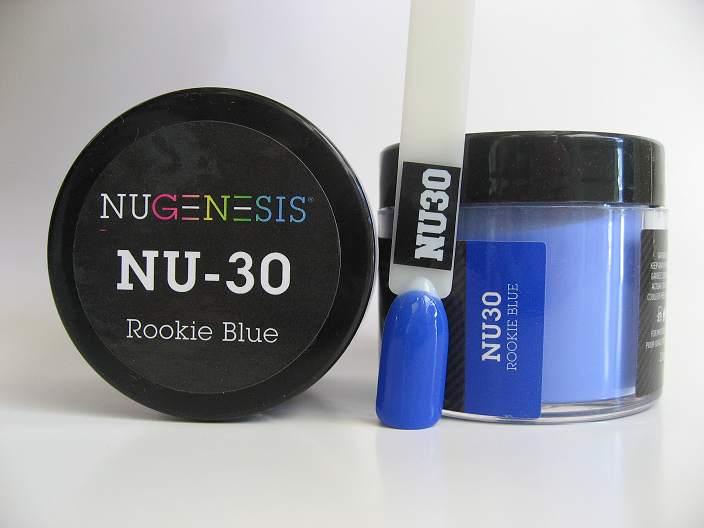NuGenesis Dipping Powder - Rookie Blue NU-30