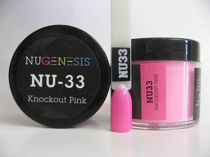 NuGenesis Dipping Powder - Knockout Pink NU-32