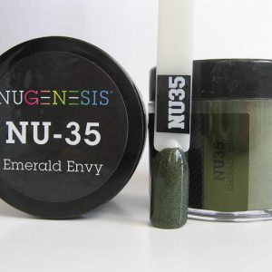 NuGenesis Dipping Powder - Emerald Envy NU-35