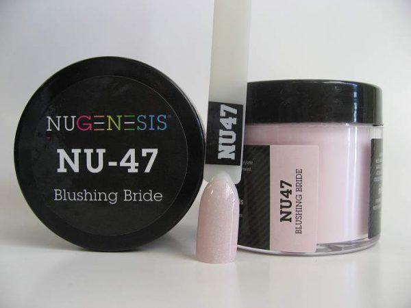 NuGenesis Dipping Powder - Blushing Bride NU-47
