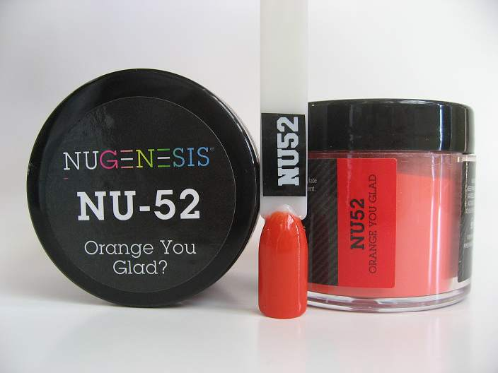 NuGenesis Dipping Powder - Orange You Glad? NU-52