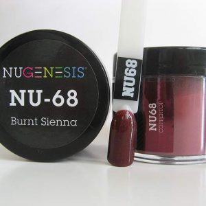 NuGenesis Dipping Powder - Burnt Sienna NU-68