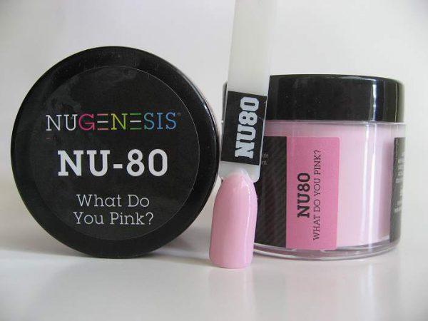 NuGenesis Dipping Powder - What Do You Pink NU-80