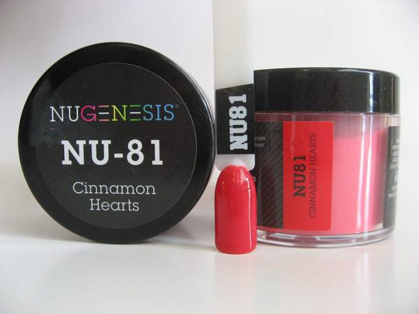 NuGenesis Dipping Powder - Cinnamon Hearts NU-81