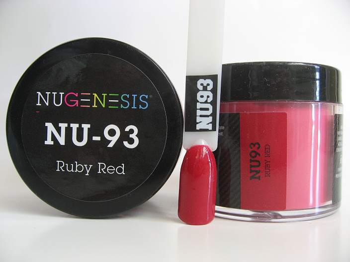 NuGenesis Dipping Powder - Ruby Red NU-93