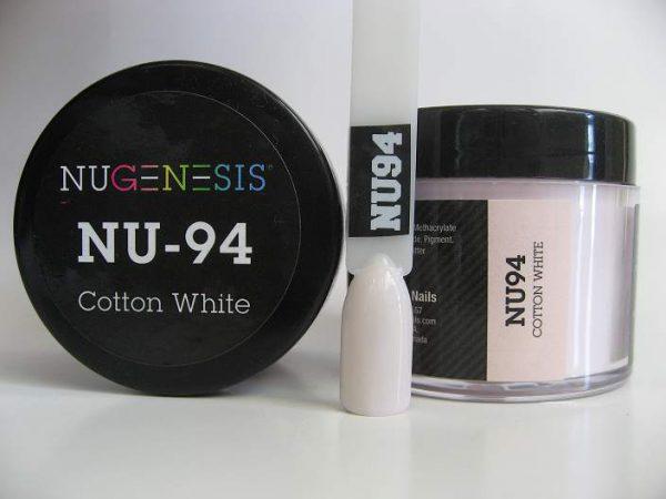 NuGenesis Dipping Powder - Cotton White NU-94