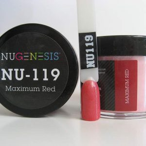 NuGenesis Dipping Powder - Maximum Red NU-119