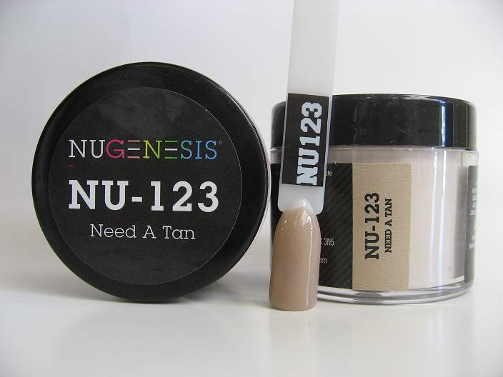 NuGenesis Dipping Powder - Need A Tan NU-123
