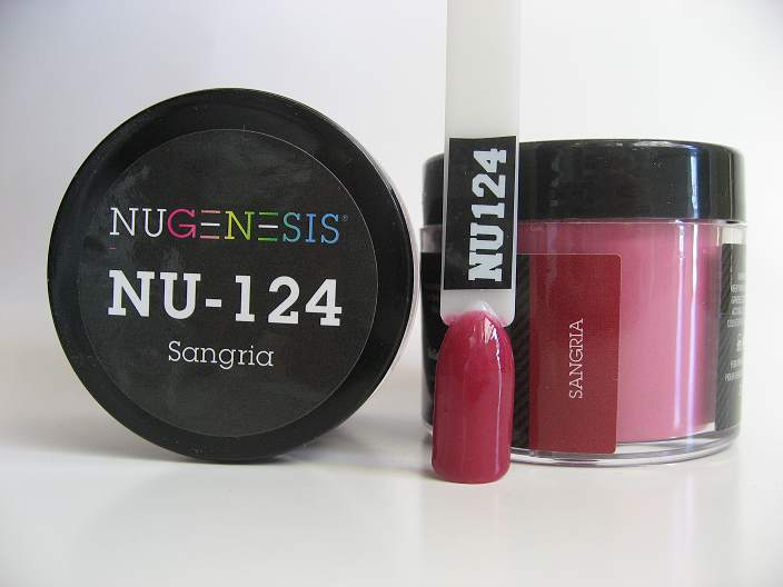 NuGenesis Dipping Powder - Sangria NU-124