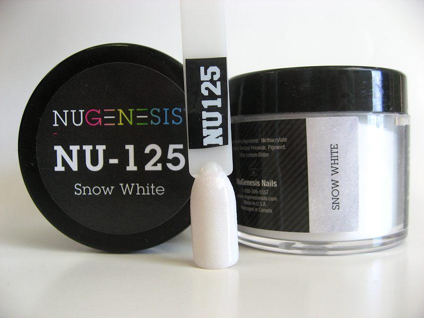 Nugenesis Easy Dip Powder - NU-125 Snow White