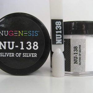 NuGenesis Dipping Powder - Sliver of Silver NU-138