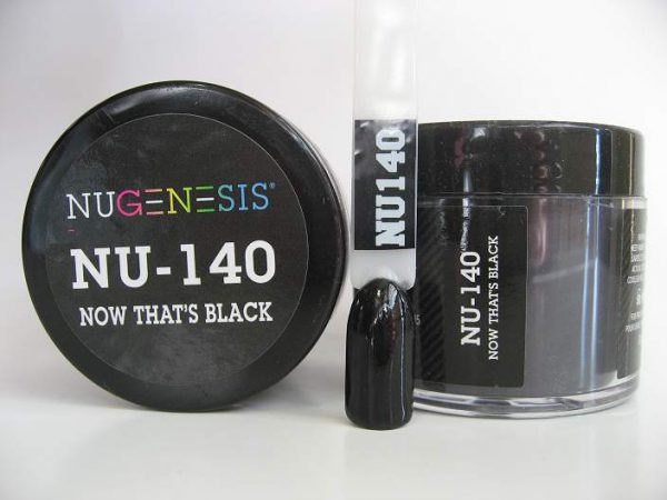 NuGenesis Dipping Powder - Now That's Black NU-140