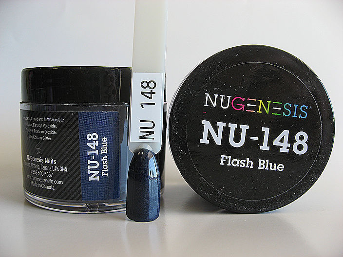Nugenesis Easy Dip Powder - NU-148 Flash Blue