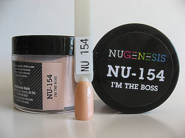 Nugenesis Easy Dip Powder - NU-154 I'm The Boss