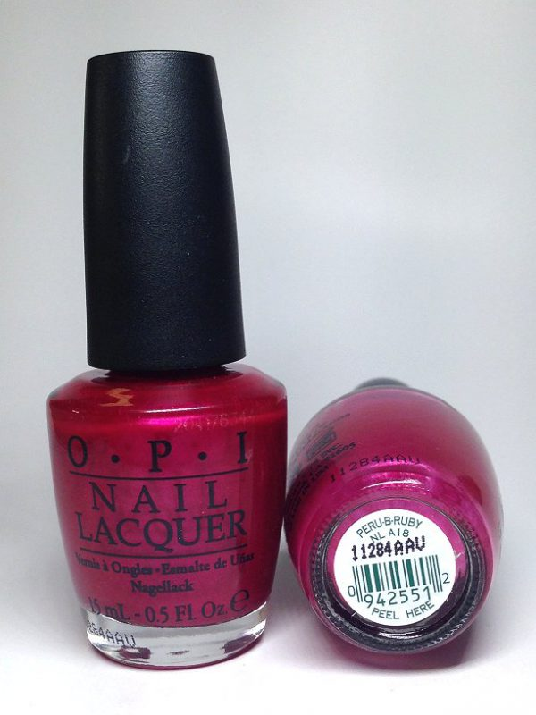 Peru-B Ruby OPI NL A18