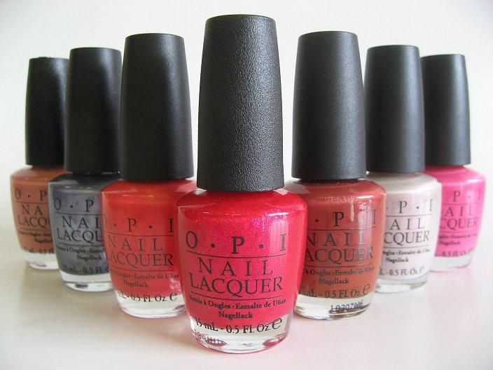 List Of Discontinued Opi Collections And Nail Polishes By Year Manicure Pedicure