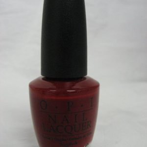 Discontinued OPI E01 - Red, Red Rhine