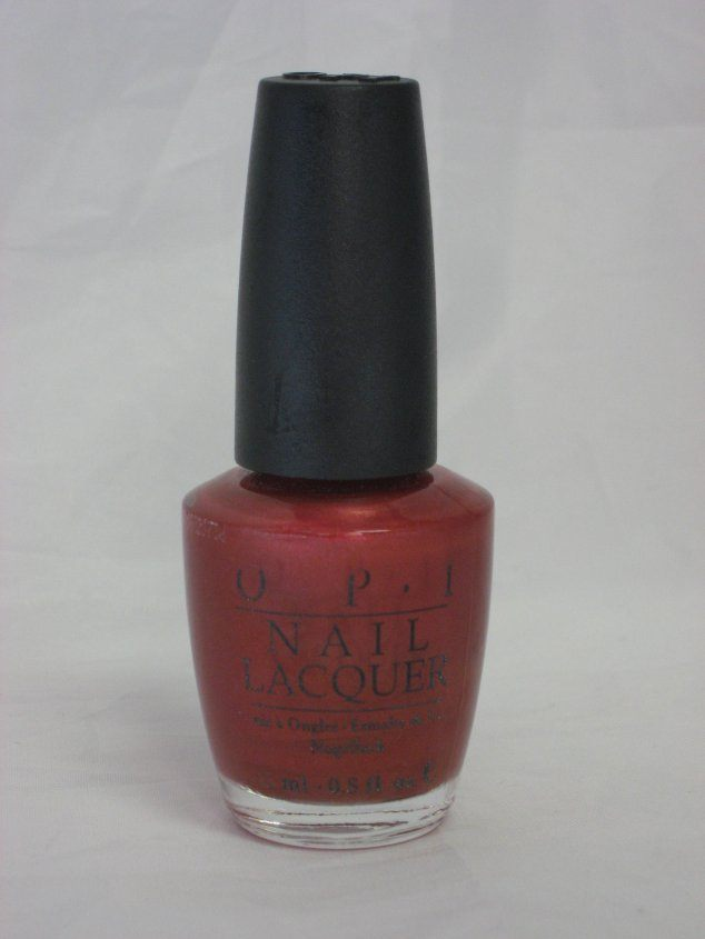 Discontinued OPI E05 - It's My Prague-ative