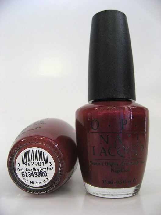 OPI NL E09 - Can't-a-berry Have Some Fun?