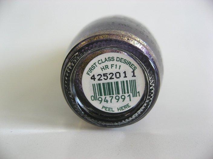 HR F11 Bottom Label
