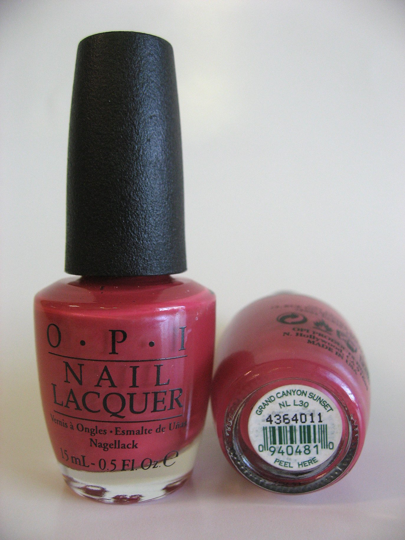Discontinued OPI Polish - L30 Grand Canyon Sunset