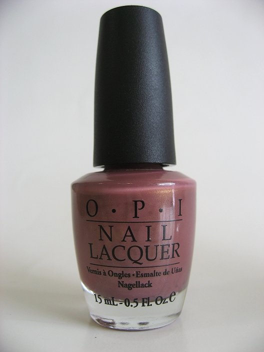 Discontinued OPI Polish Maine-iac Mauve