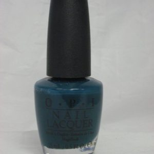 Discontinued OPI - Z16 SKI TEAL WE DROP