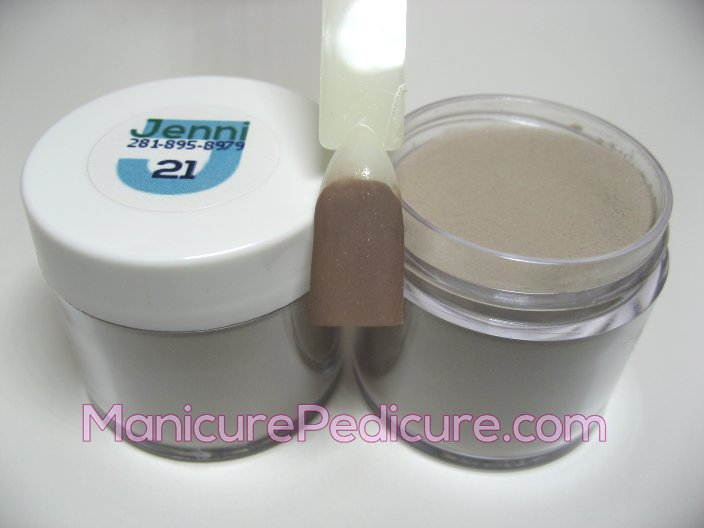 JENNI Color Acrylic Powder - JEN 21