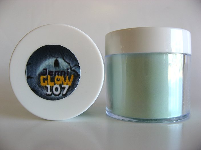 Glow in the dark acrylic powder - 107