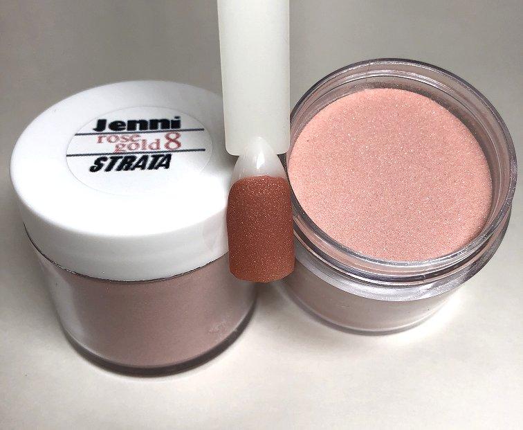 Rose Gold Acrylic Powder RG8
