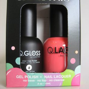 Q-Gloss Gel & Polish #8