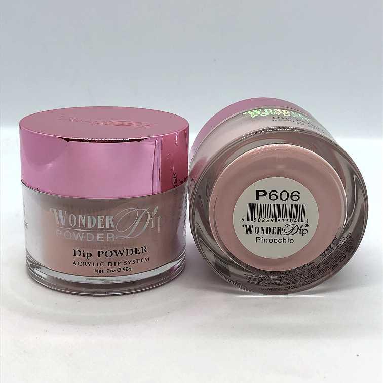 Wonder Dip - Acrylic Dipping Powder 2 oz - W603 - Peaches