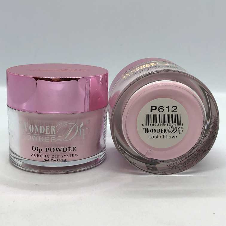 Wonder Dip - Acrylic Dipping Powder 2 oz - W610 - Light