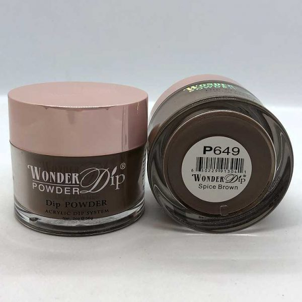 Wonder Dip - Acrylic Dipping Powder 2 oz - W602 - Jet
