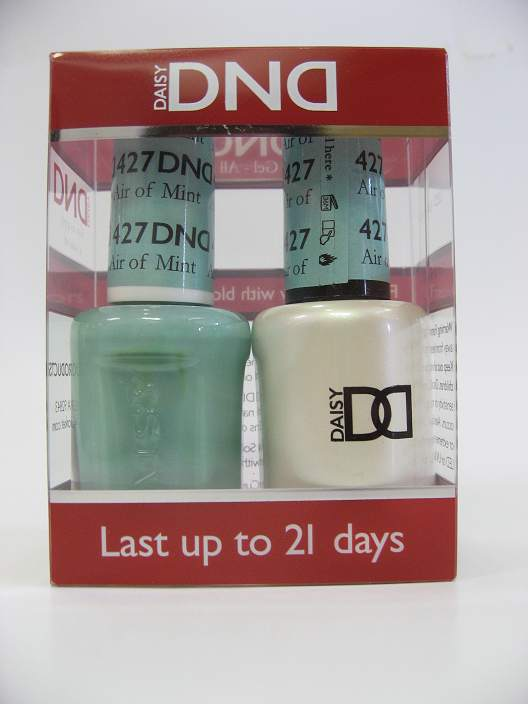 DND Gel Polish / Nail Lacquer Duo - 427 Air Of Mint