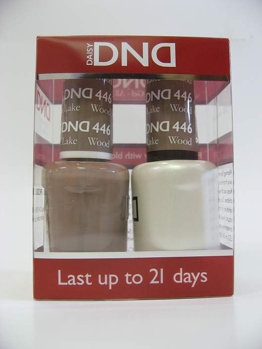 DND Soak Off Gel & Nail Lacquer 446 - Wood Lake