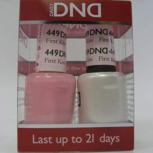 DND Soak Off Gel & Nail Lacquer 449 - First Kiss