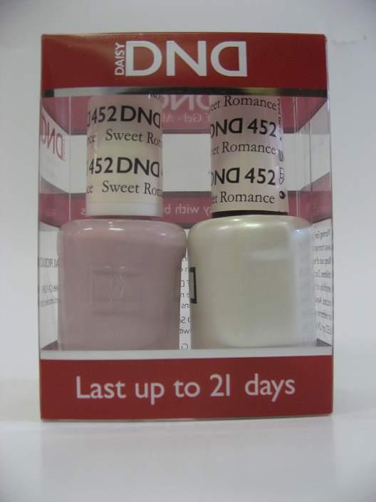 DND Soak Off Gel & Nail Lacquer 452 - Sweet Romance