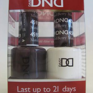 DND Soak Off Gel & Nail Lacquer 459 - Muted Berry