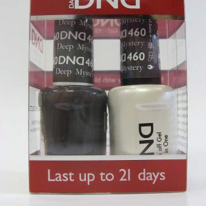 DND Soak Off Gel & Nail Lacquer 460 - Deep Mystery