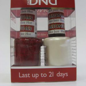 DND Soak Off Gel & Nail Lacquer 463 - Hot Jazz