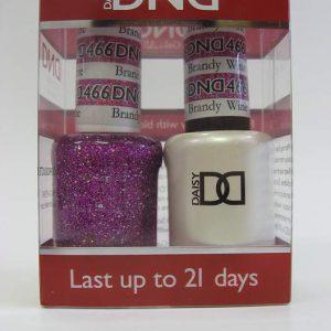DND Soak Off Gel & Nail Lacquer 466 - Brandy Wine