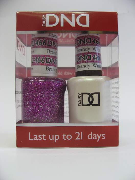 DND Soak Off Gel & Nail Lacquer 466 - Brandy Wine