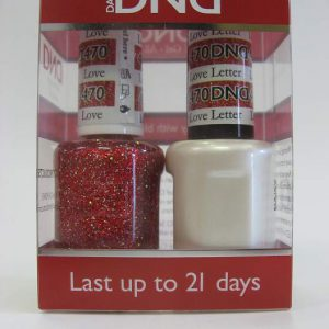 DND Soak Off Gel & Nail Lacquer 470 - Love Letter