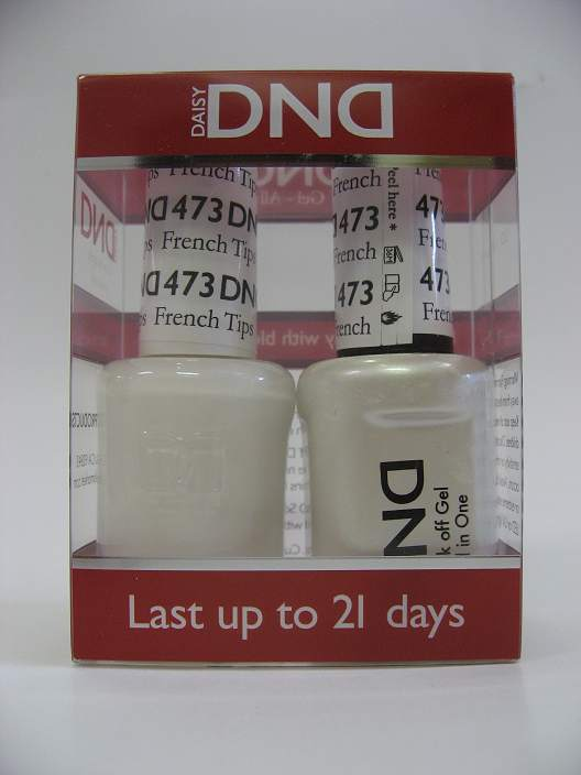 DND Soak Off Gel & Nail Lacquer 473 - French Tips